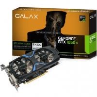 Placa de Vídeo VGA NVIDIA Galax GTX 1050 TI Exoc 4GB