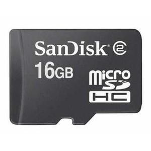 Sandisk SDSDQ-016G-A11M 16GB Micro SDHC